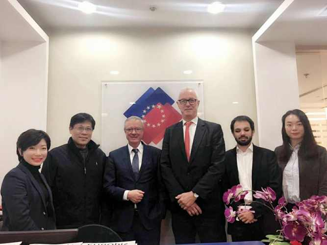 Meeting with the Association of European Heating Industry and Shanghai Gas Bureau on Recent European and Chinese Regulatory Updates on Residential Heating Products